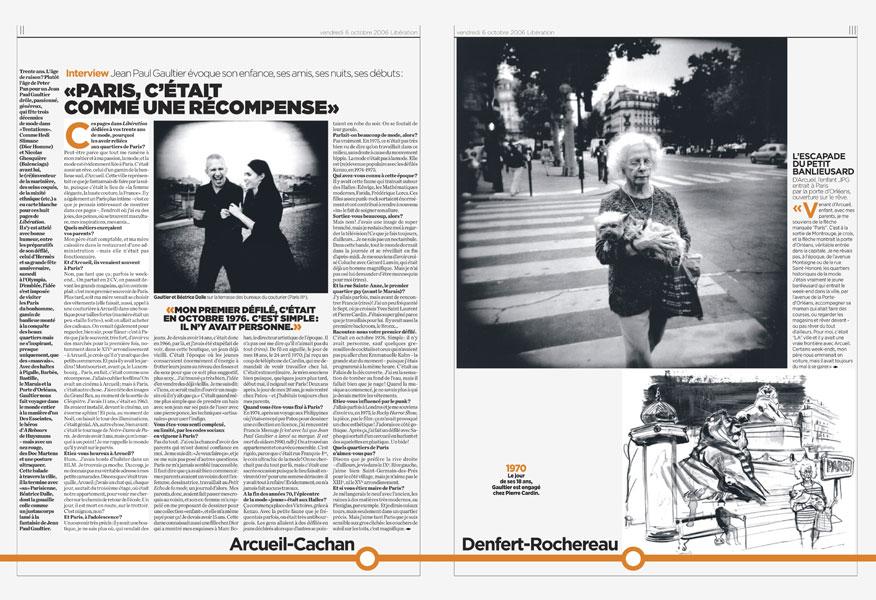 Jean Paul Gaultier, ma traversée de Paris.-2