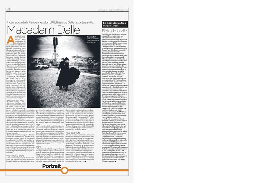 Jean Paul Gaultier, ma traversée de Paris.-5